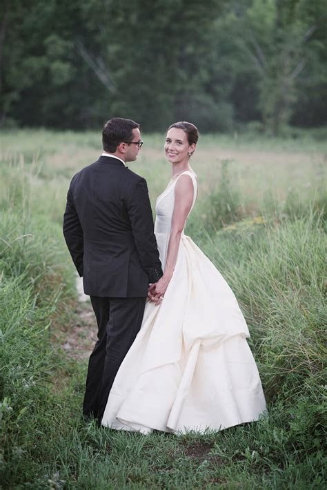 Michele and David's wedding at Blooming Hill Farm