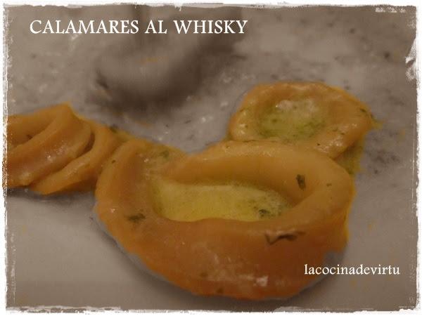 calamares al wisky