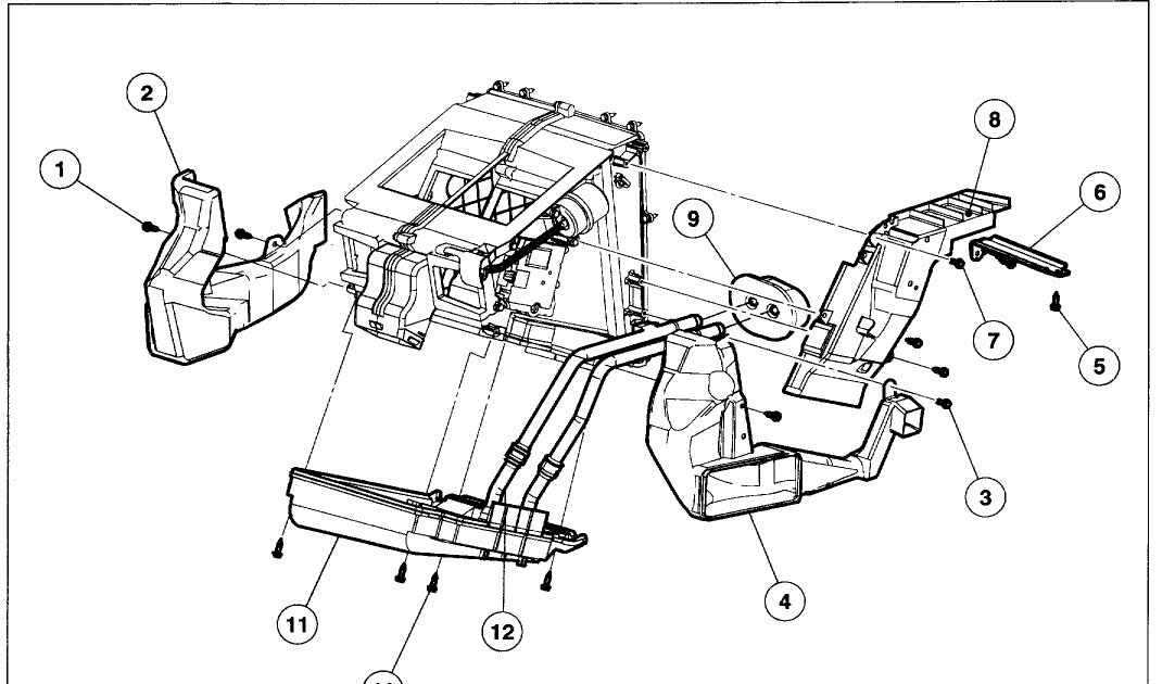 Wiring Diagram  11 2002 Ford Explorer Coolant Hose Diagram