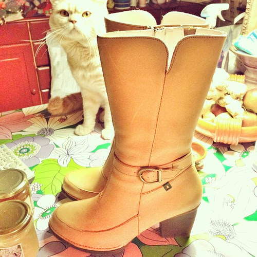 yellow boots and their inspector