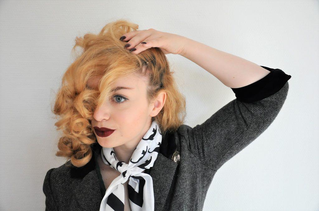 50er Jahre Styling Schritt Für Schritt Zu Frisur Und Look Der