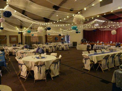 Wedding reception LDS Cultural Hall   Wedding ideas in