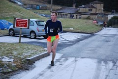 John Hargreaves finishing Leg 1