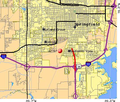 World Map Gray Springfield Il Zip Code Map