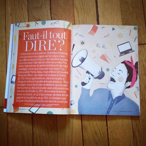 I'm on the November Issue of the Magazine Psychologies by la casa a pois