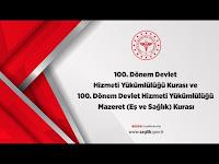 100. Dönem Devlet Hizmeti Yükümlülüğü Kurası - T.C. Sağlık Bakanlığı