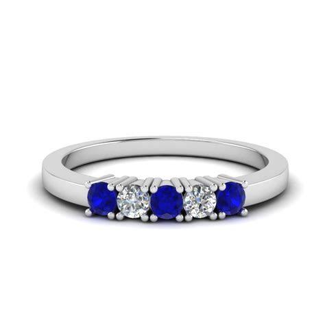 Buy Stunning Sapphire Wedding Bands For Women