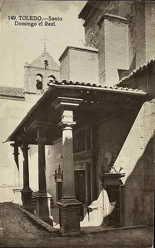 Convento de Santo Domingo el Real (Toledo) a principios del siglo XX. Foto Grafos hacia 1927