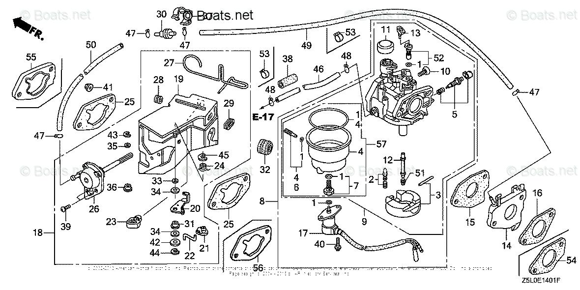 Honda Gx340 Carburetor Diagram
