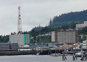 English: Twin Towers in Ketchikan, Alaska, Uni...
