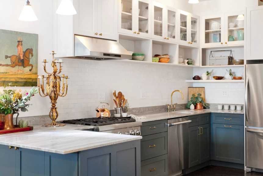 Get Inspired For Best Kitchen Cabinet Colors For 2020 Photos