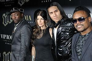 Les Black Eyed Peas en concert privé au VIP Ro...