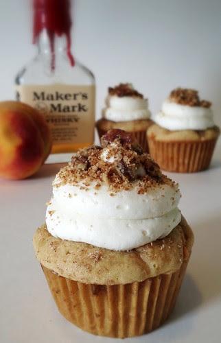BourbonPeachCobblerCupcake