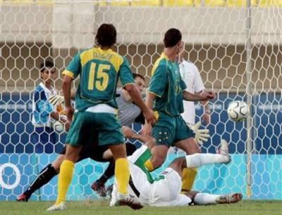 SPORT: Iraq defeat Australia
