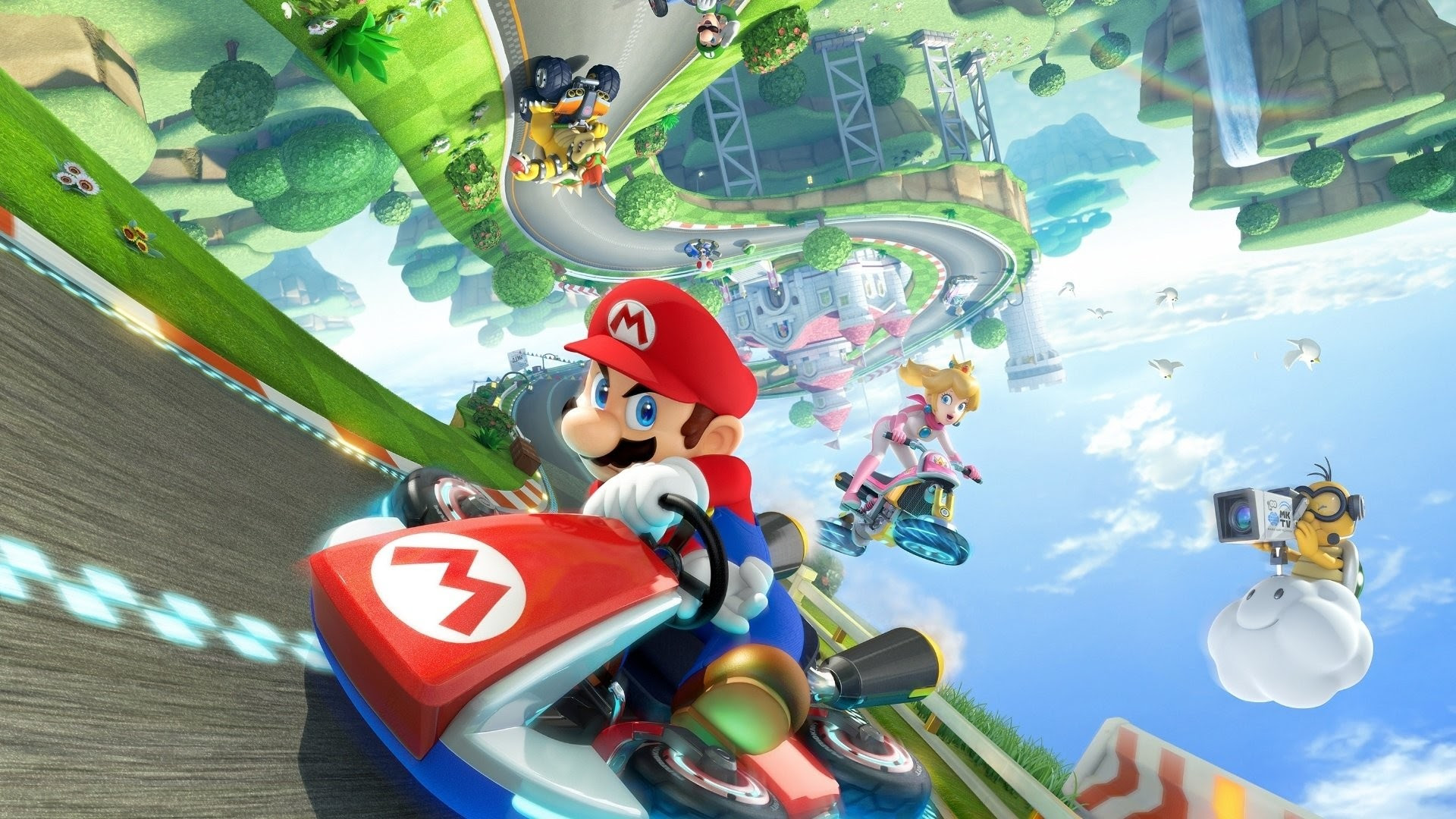 Mario Kart 8 Wallpaper Hd 72 Images
