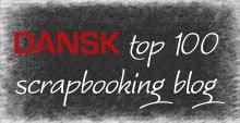 Besøg Dansk Top 100 Scrapbooking blog