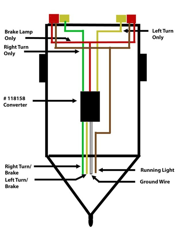 3 Wire Trailer Tail Light Wiring Diagram