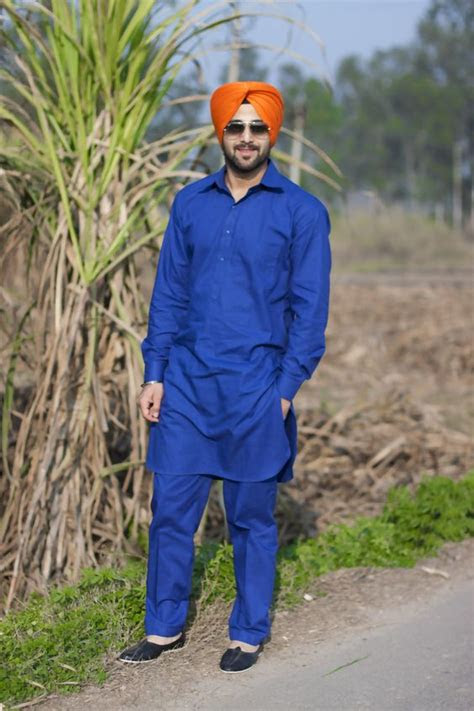 punjabi latest mukatsari style kurta pajama  boys