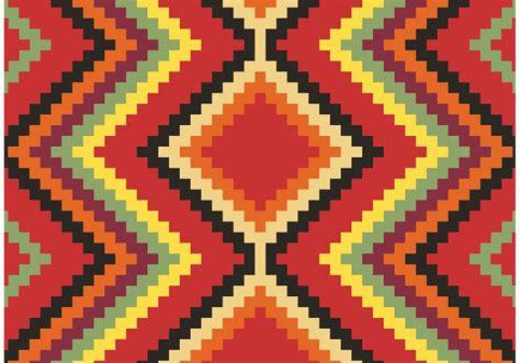 native american pattern vector  vector art stock