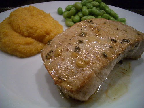 Sage & Balsamic Pork Chop