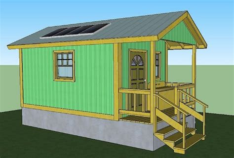 sq ft quixote cottage tiny cabin design