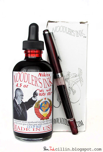 Noodler's Nikita ink and free pen