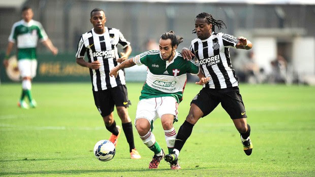 Valdivia, Palmeiras X Santos (Foto: Marcos Ribolli)