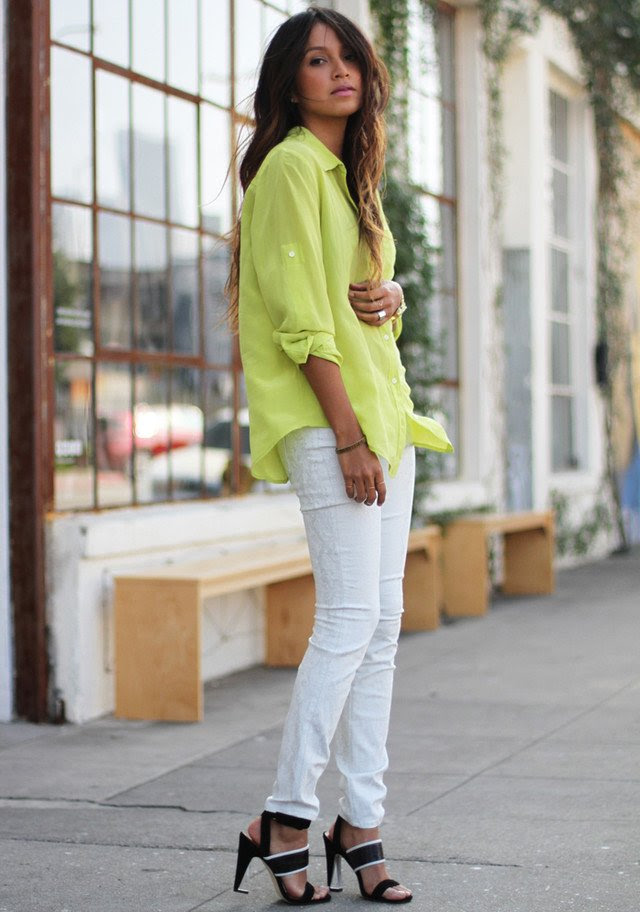 15 trendy outfit ideas with white jeans  pretty designs