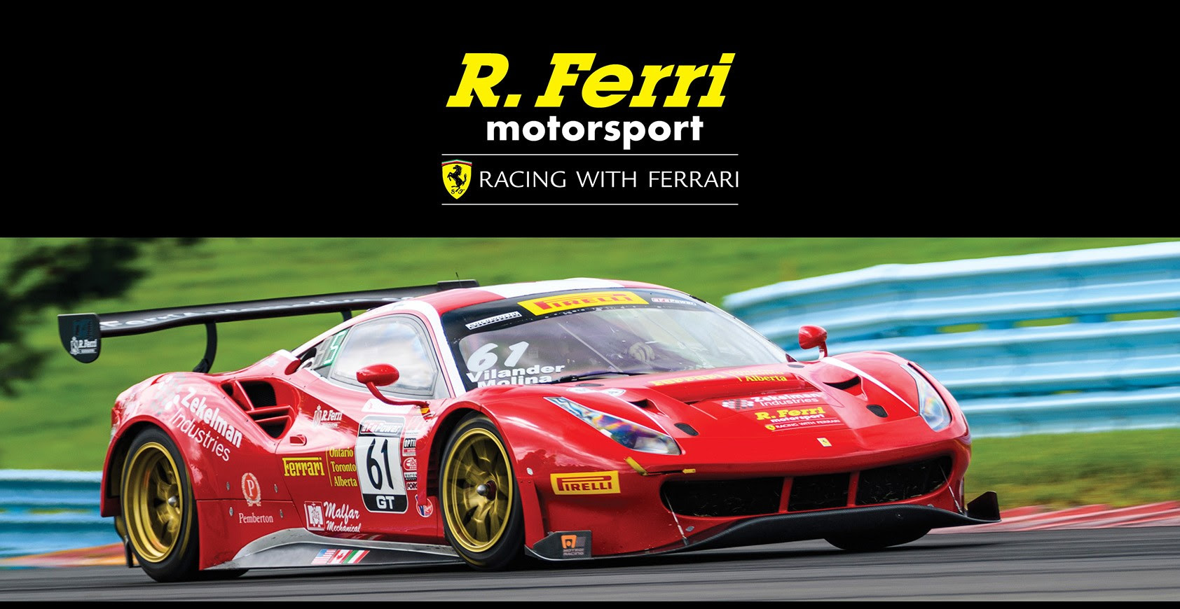 Rferri Motorsport Racing With Ferrari Returns To The
