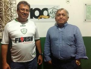 Alecrim - Osvaldo Trigueiro Filho e Francisco Valério (Foto: Diogenes Baracho/Divulgação)
