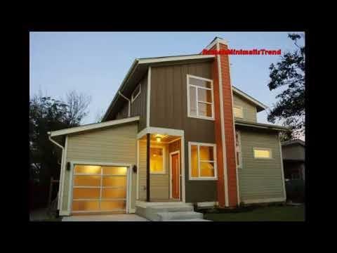 konsep contoh rumah kayu minimalis sederhana cantik dan