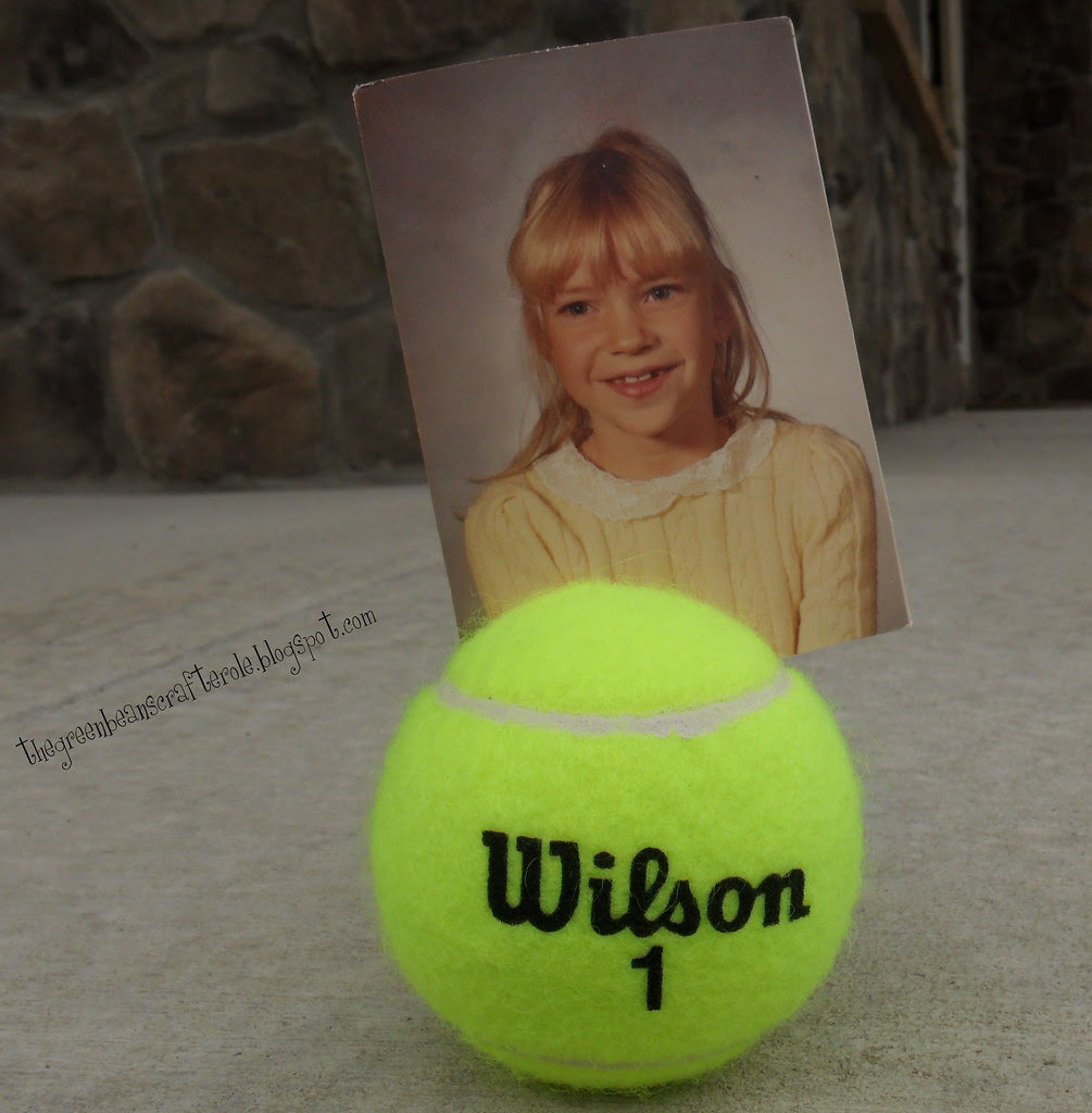 """tennis ball picture """"frame"""""""