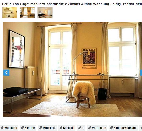 030 8265662 berlin top lage m blierte charmante 2 zimmer altbau. Black Bedroom Furniture Sets. Home Design Ideas