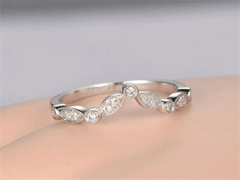 17 Best ideas about Curved Wedding Band on Pinterest