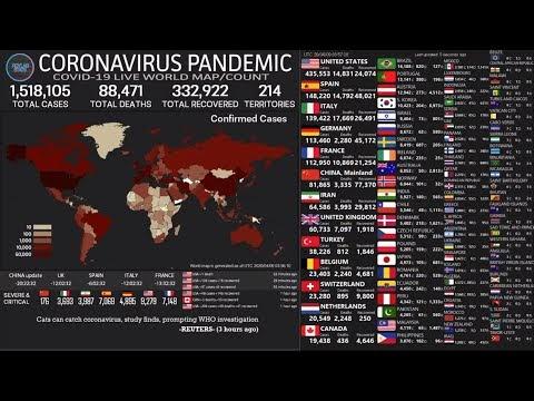 Corona Virus Live Ticker Sachsen