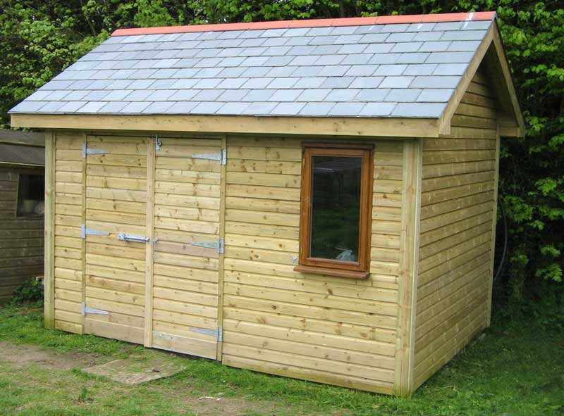 Build Your Own Garden Shed Plans Woodworking Project