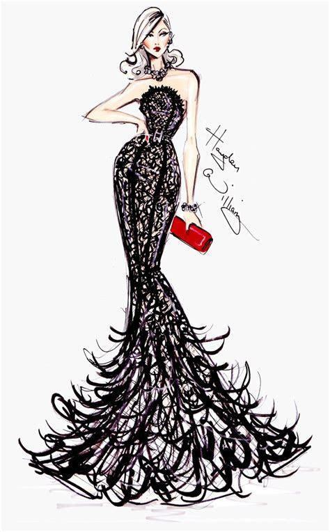 #Hayden Williams Fashion Illustrations #Golden Globe