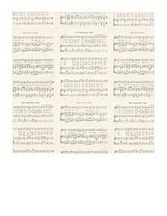 7x7 inch sq JPG Christmas GF Vintage sheet music SMALL SCALE