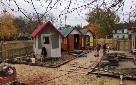 madison tiny house village   homeless tiny house blog