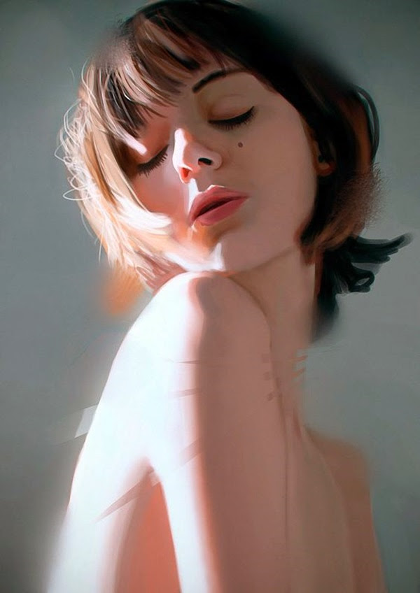 Spectacular Digital Painting Portraits (40)