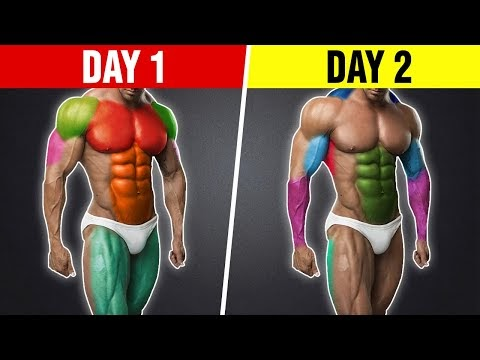 The Best 2-Day Workout Split for Mass