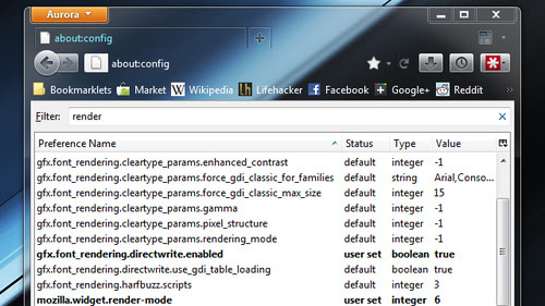 Enable Direct2D and DirectWrite Hardware Acceleration for Better Graphics Performance in Firefox