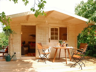 Prefab Wooden Poolhouse Cabin Kit