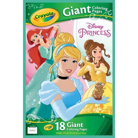 Crayola Giant Coloring Pages Disney Princess - Learn to Color