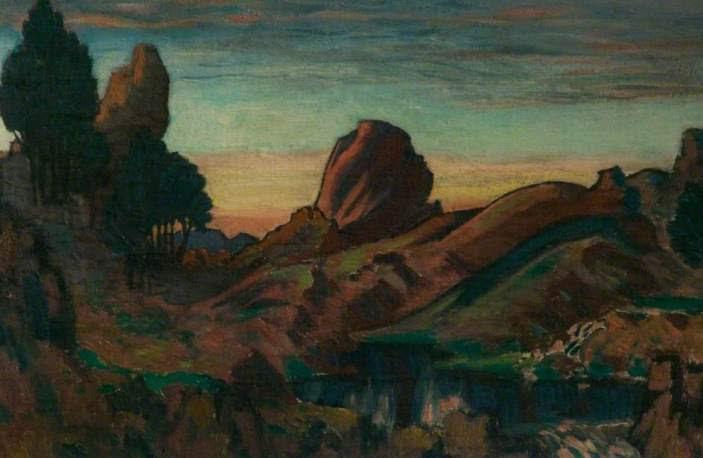 Σαμοθράκη - Roger Eliot Fry - 1912