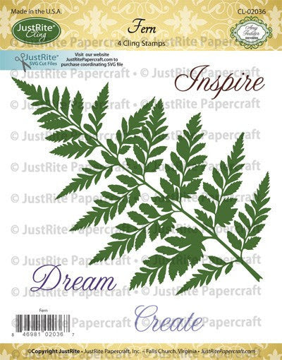 Fern Cling Stamps