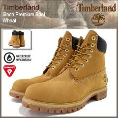 【31%OFF】【送料無料】Timberland 6inch Premium Boot Wheat【10061】【ポイント5倍】ティンバ...