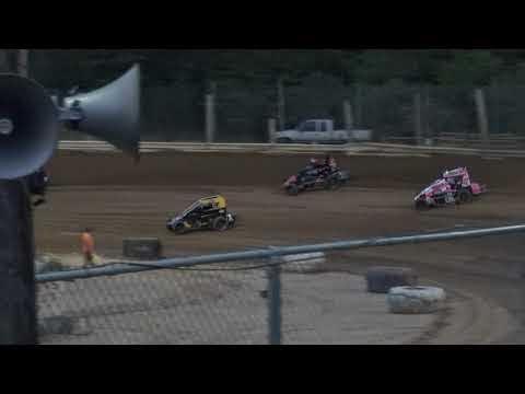 Jackson County Speedway | 7/9/21 | USAC Midwest Thunder Midgets | Heat 1