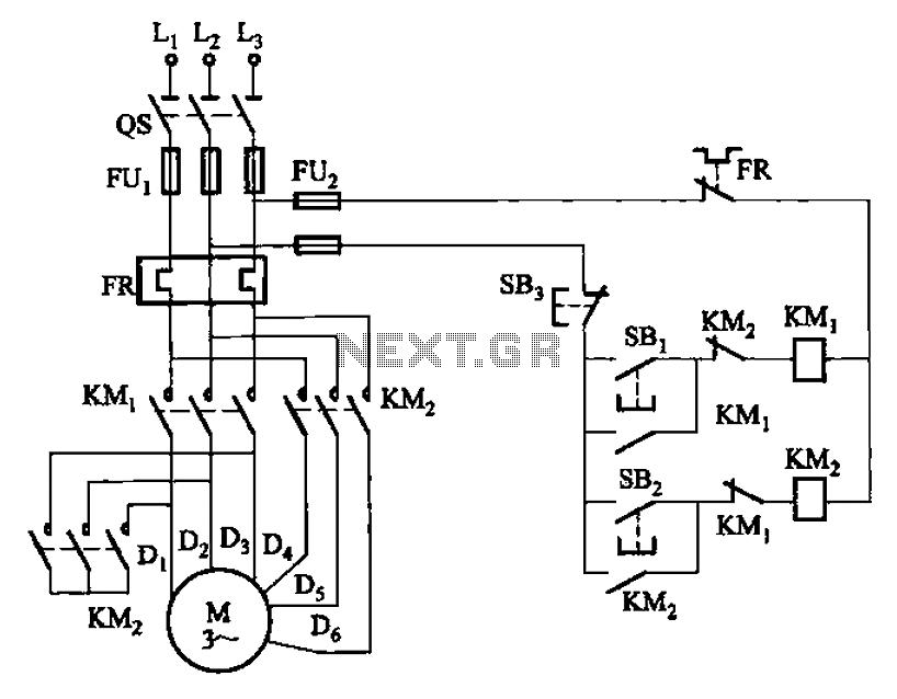 2 Speed Motor Wiring Diagram 3 Phase
