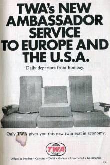 Old Ad of TWA
